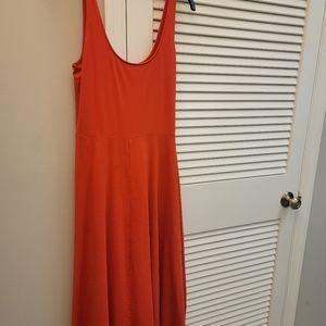 New Day Scarlet Midi Dress NWOT